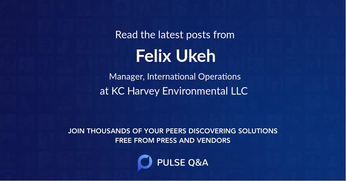 Felix Ukeh