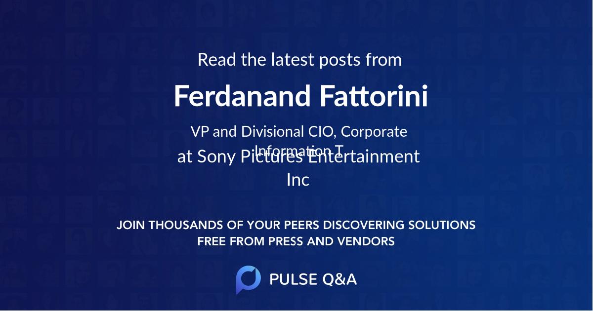 Ferdanand Fattorini