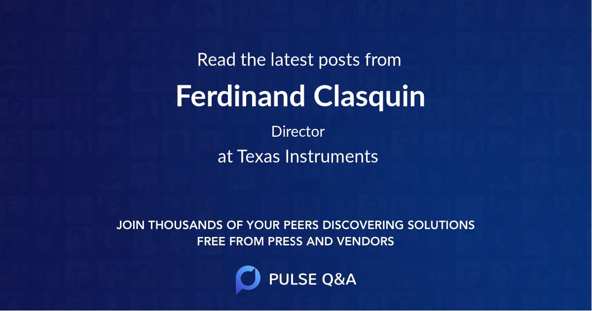 Ferdinand Clasquin