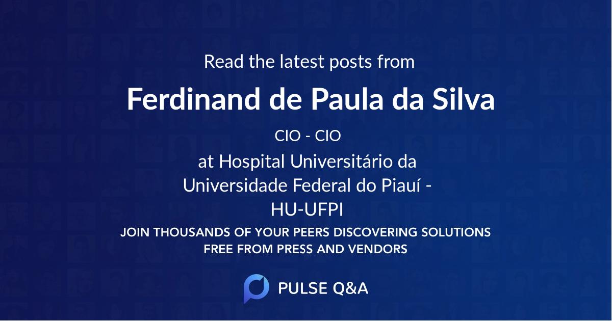 Ferdinand de Paula da Silva