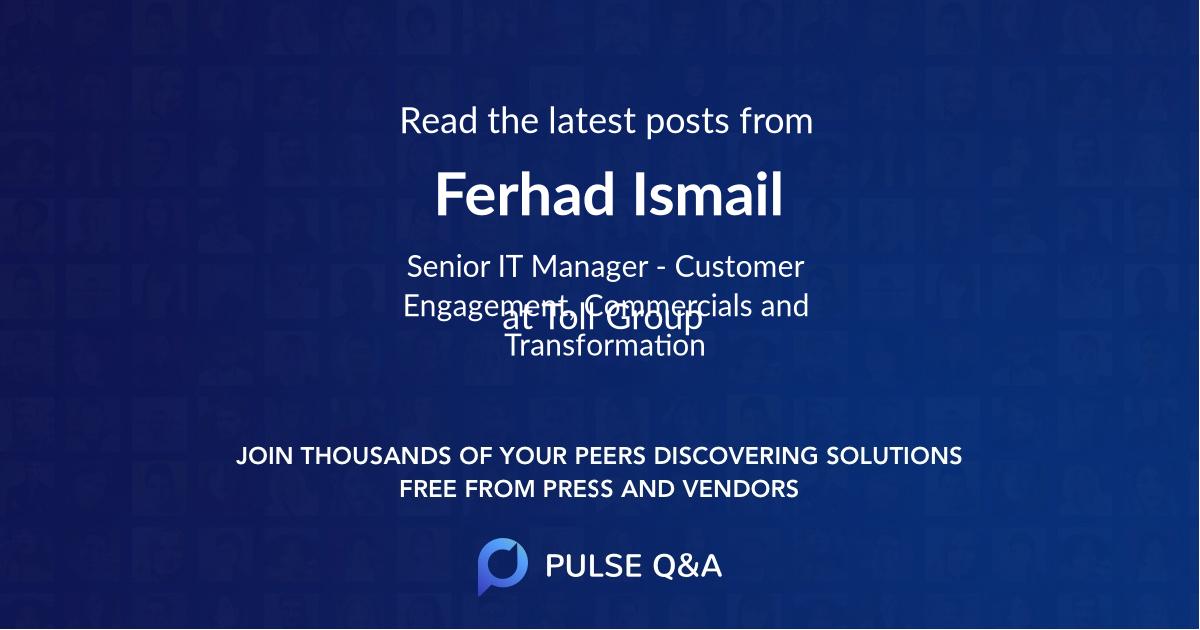 Ferhad Ismail