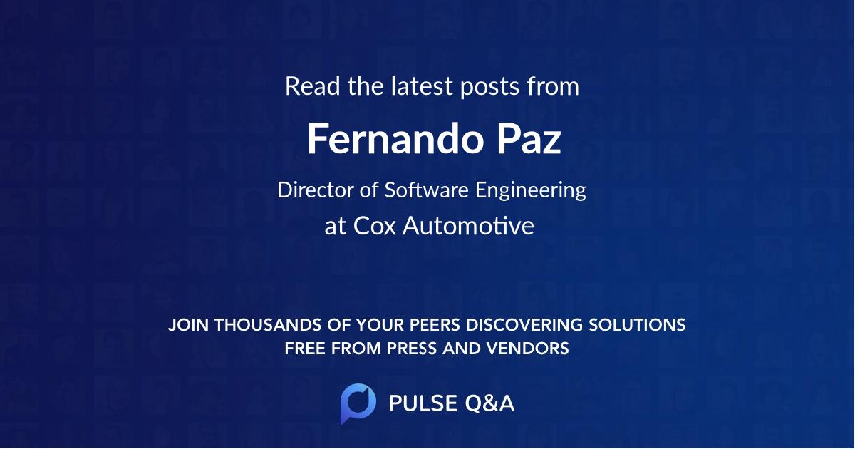 Fernando Paz