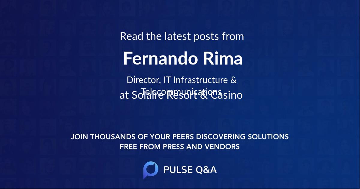 Fernando Rima