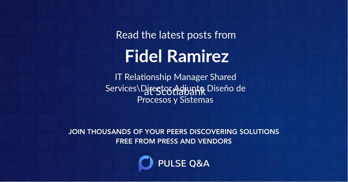 Fidel Ramirez