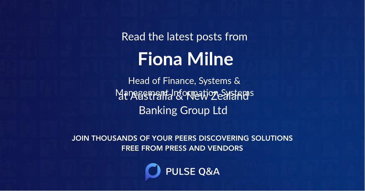 Fiona Milne