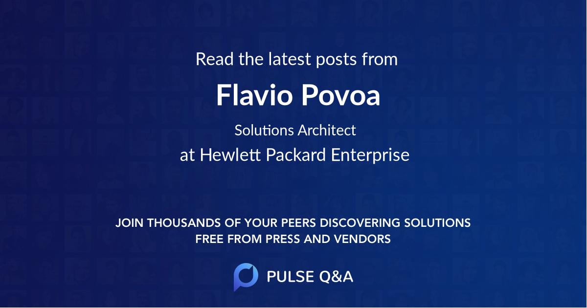 Flavio Povoa