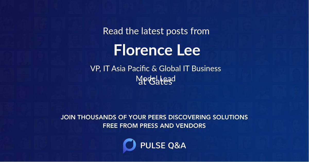 Florence Lee