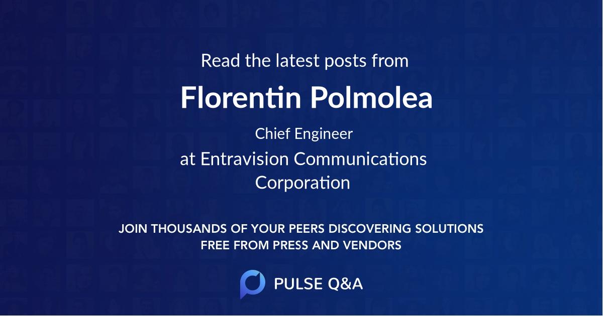 Florentin Polmolea