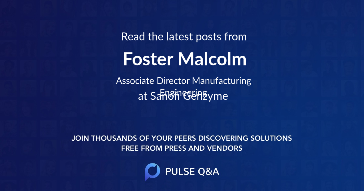 Foster Malcolm
