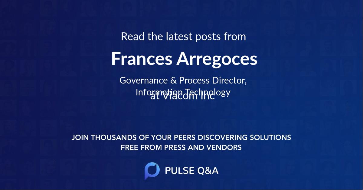 Frances Arregoces