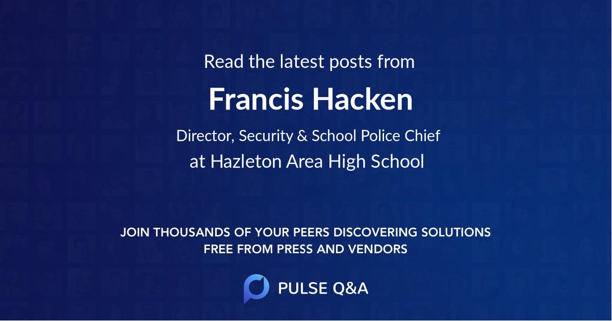 Francis Hacken