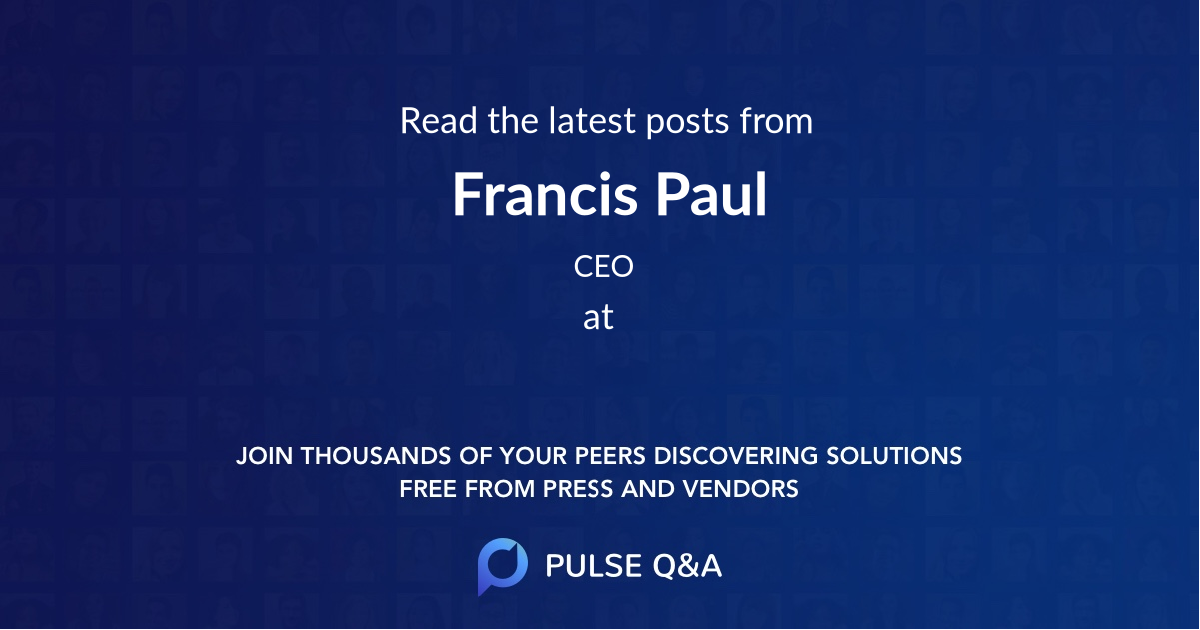 Francis Paul