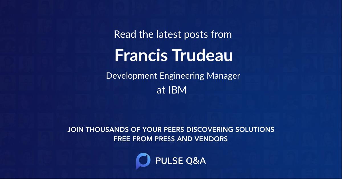 Francis Trudeau