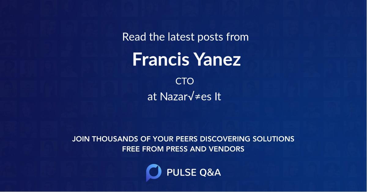 Francis Yanez