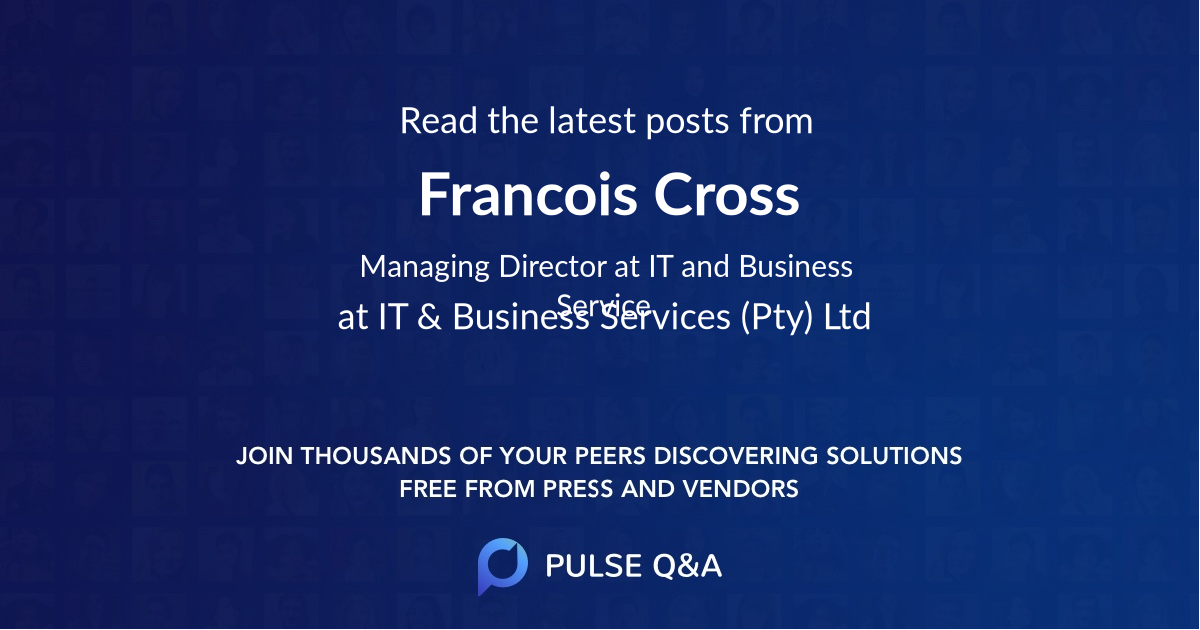 Francois Cross