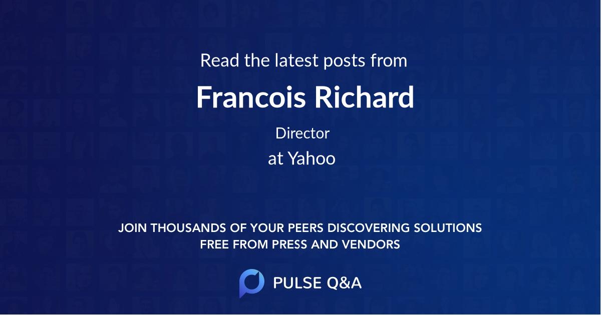Francois Richard