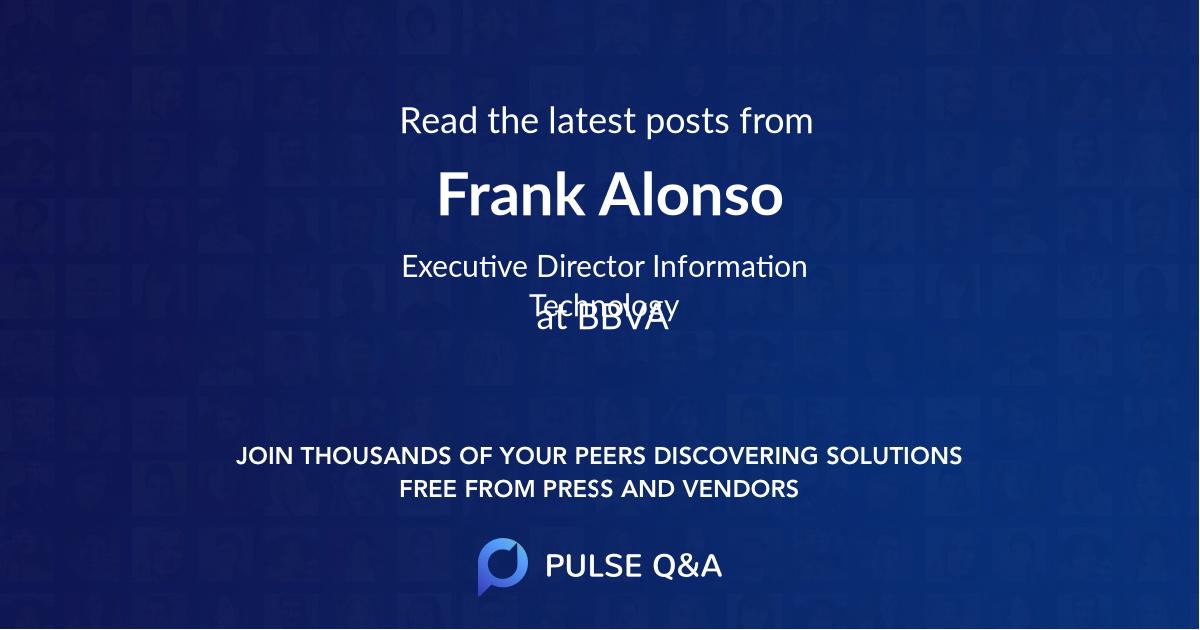 Frank Alonso