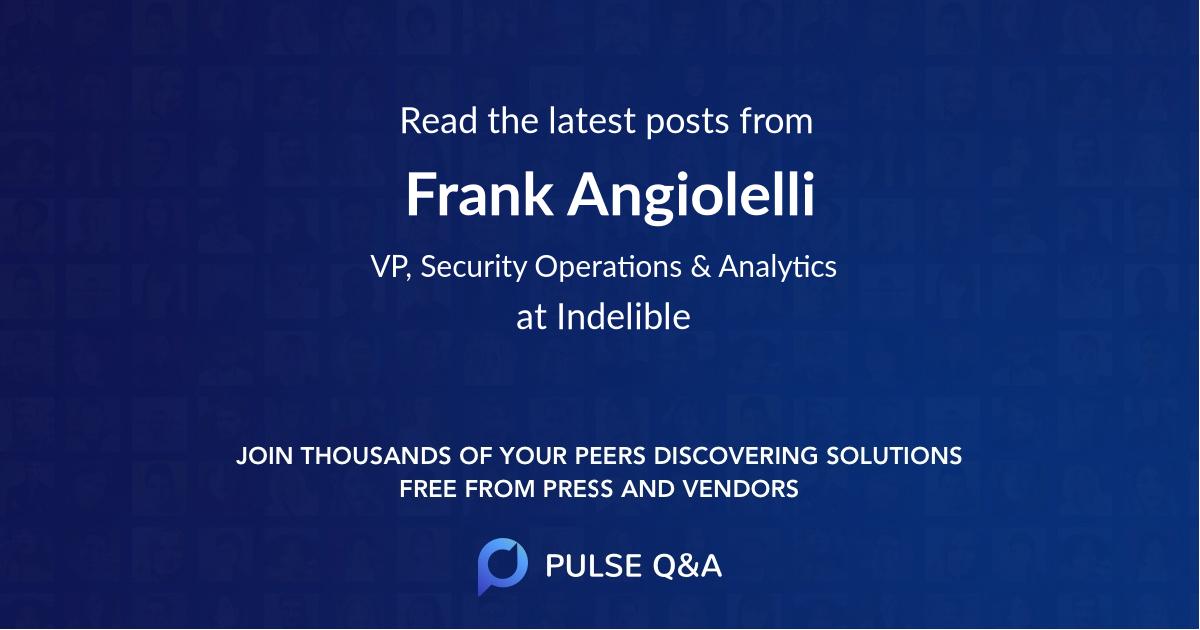 Frank Angiolelli