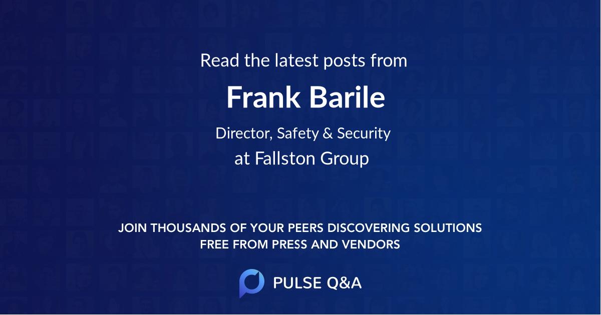 Frank Barile