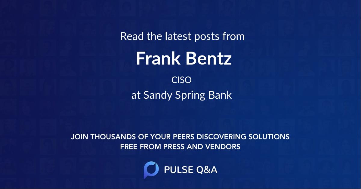 Frank Bentz