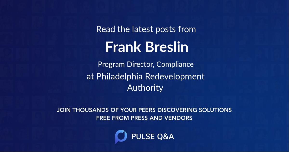 Frank Breslin