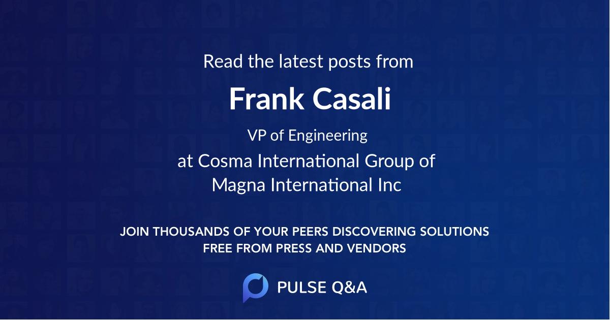 Frank Casali