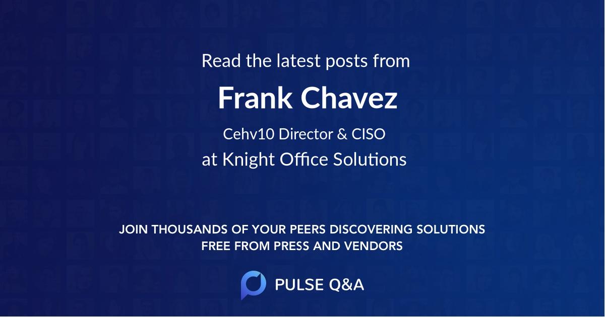 Frank Chavez