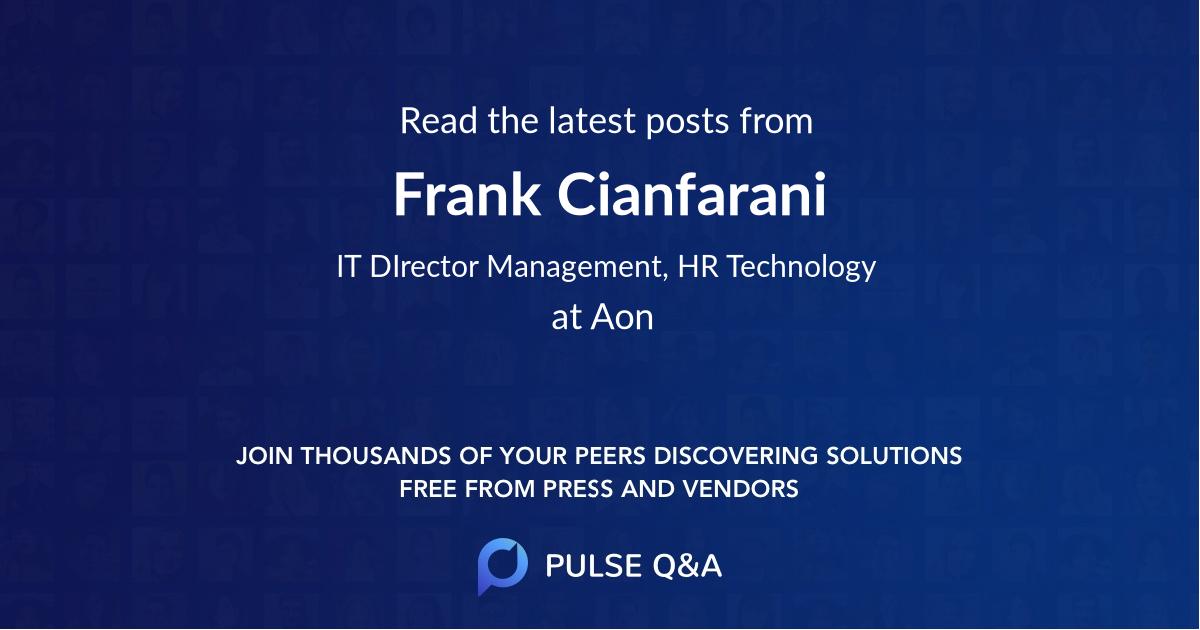 Frank Cianfarani