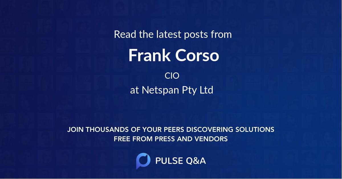 Frank Corso