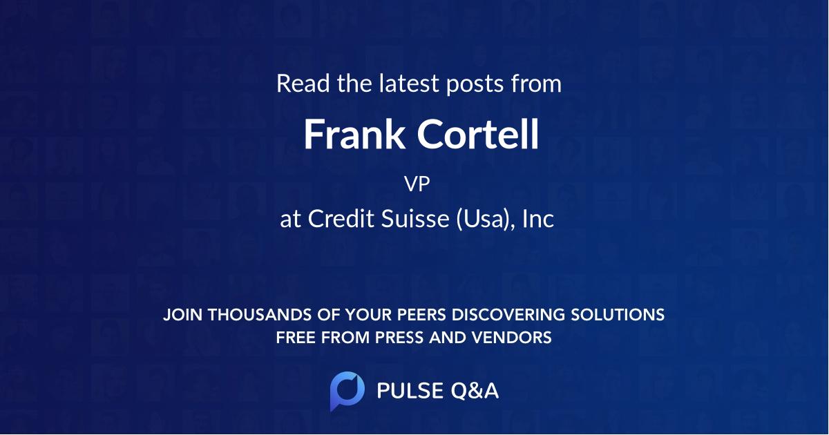 Frank Cortell