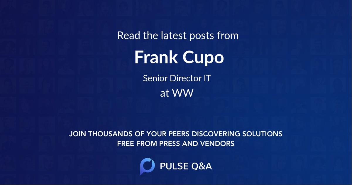 Frank Cupo