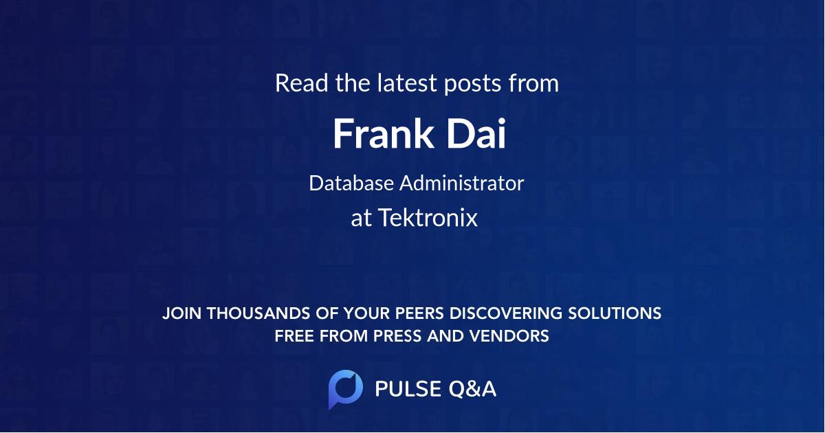 Frank Dai