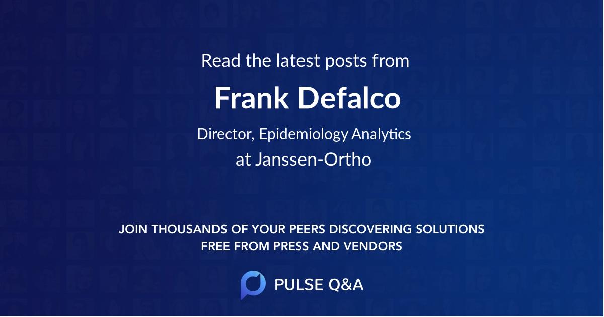 Frank Defalco