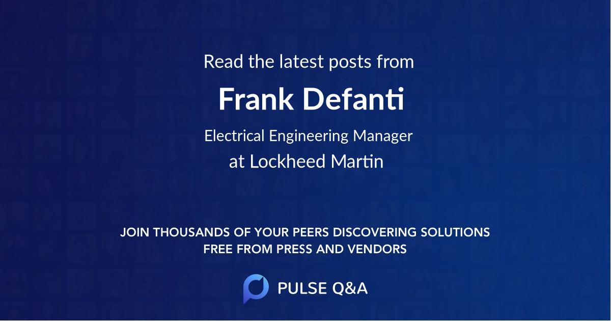 Frank Defanti