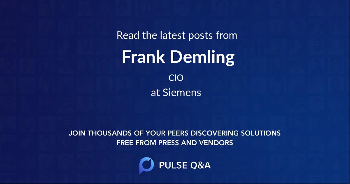 Frank Demling
