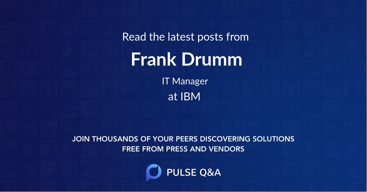 Frank Drumm