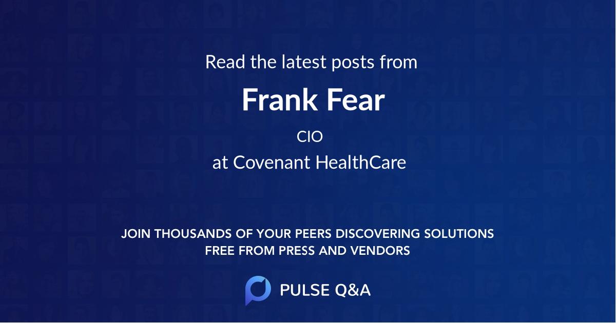 Frank Fear