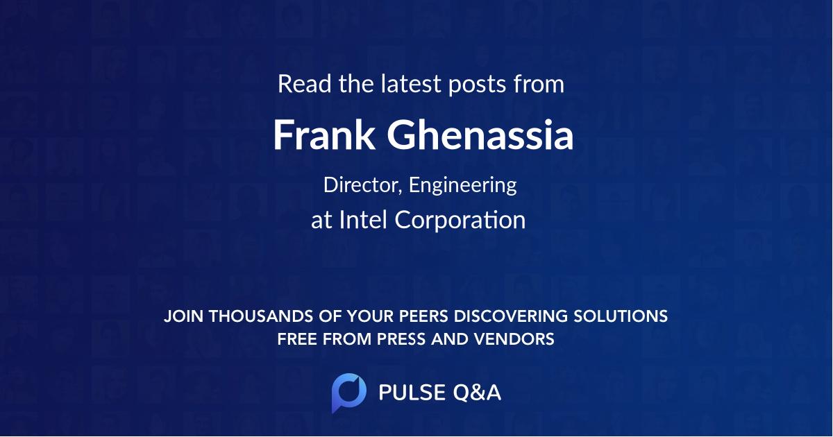 Frank Ghenassia