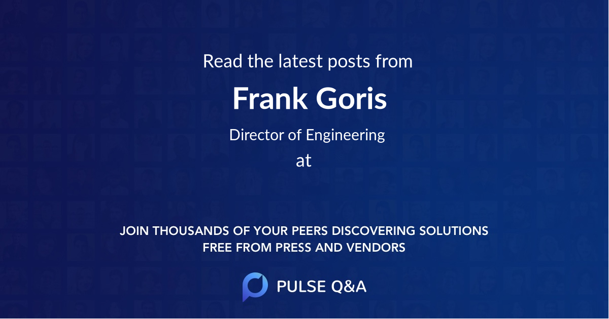 Frank Goris