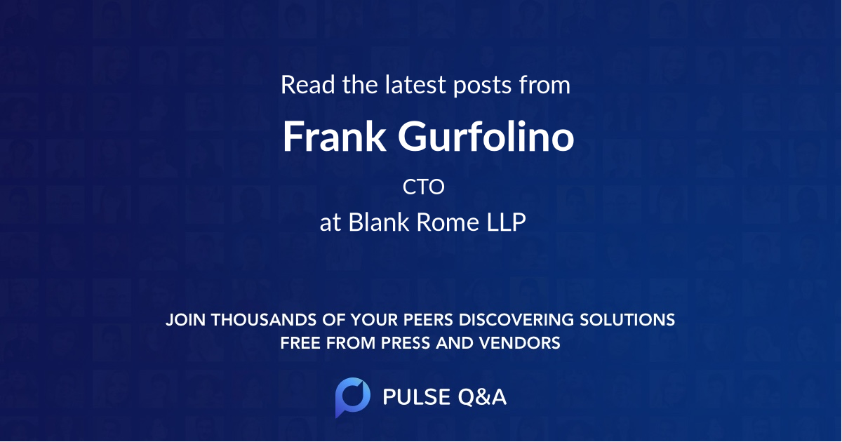 Frank Gurfolino
