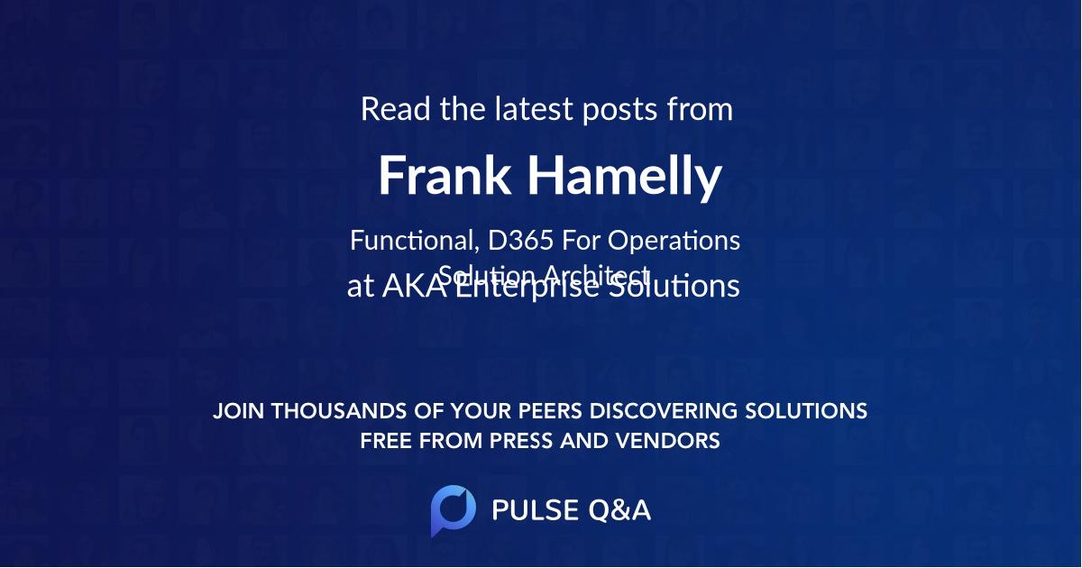 Frank Hamelly