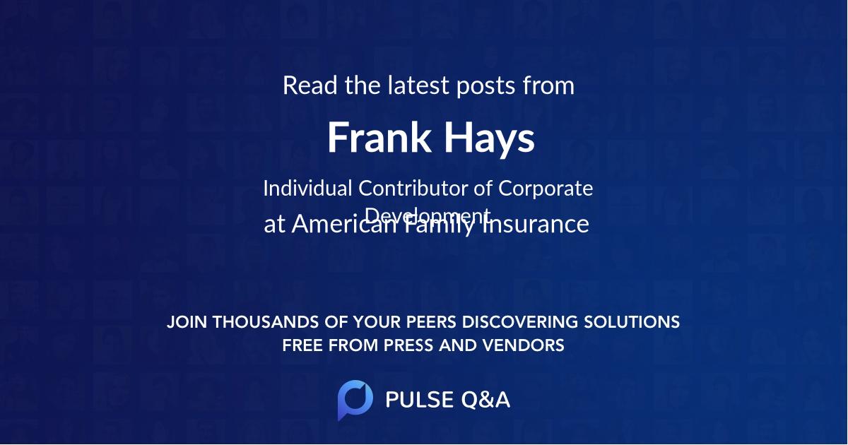 Frank Hays