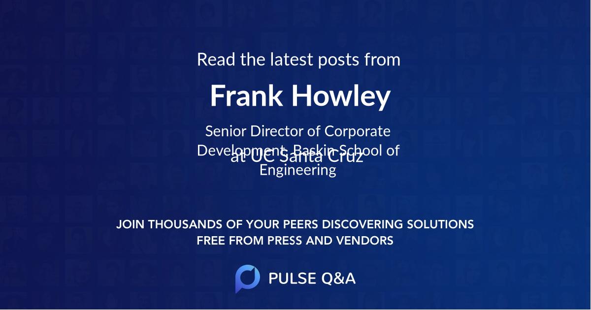 Frank Howley