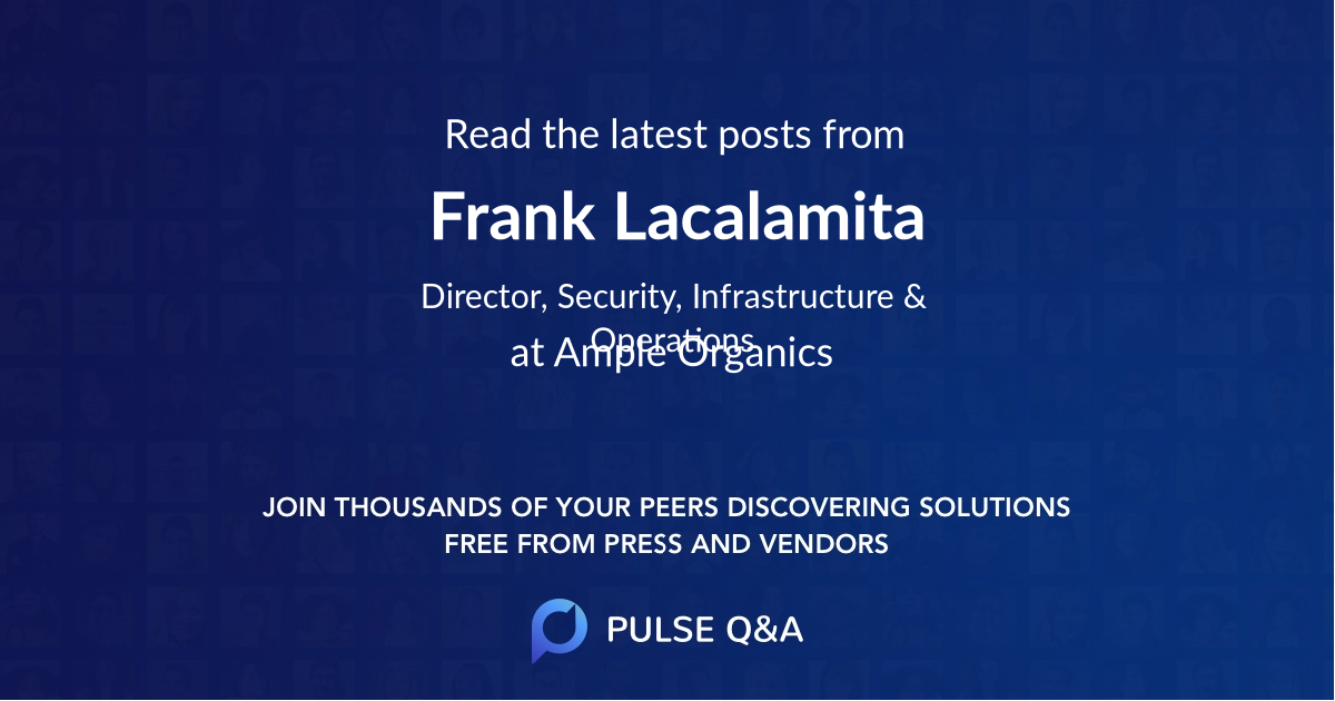 Frank Lacalamita