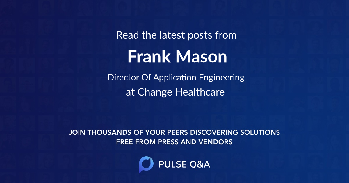 Frank Mason