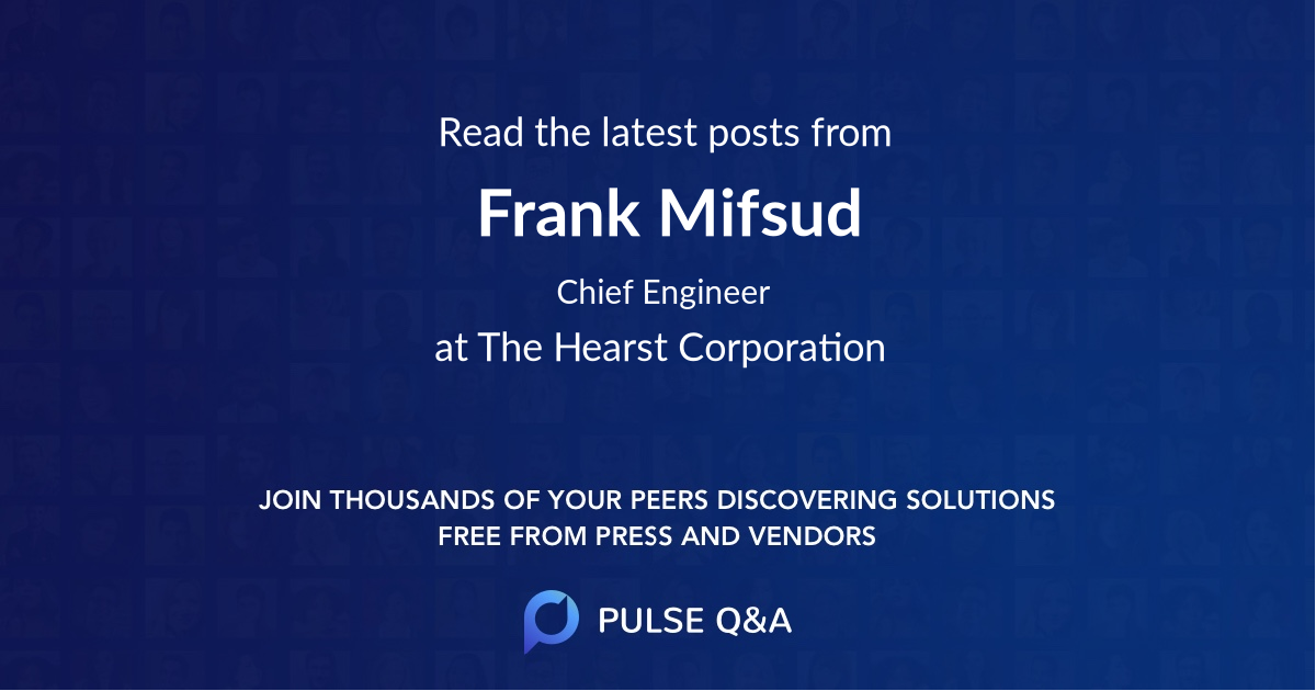 Frank Mifsud