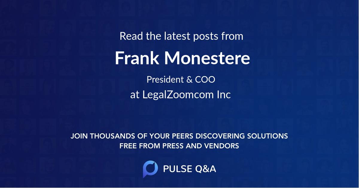 Frank Monestere