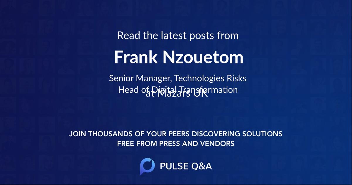 Frank Nzouetom