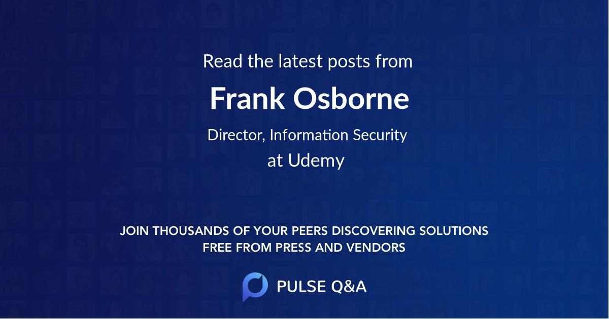 Frank Osborne