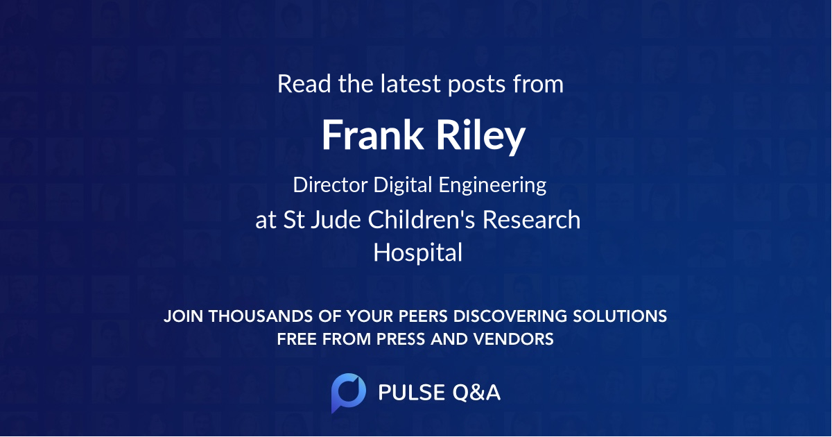 Frank Riley